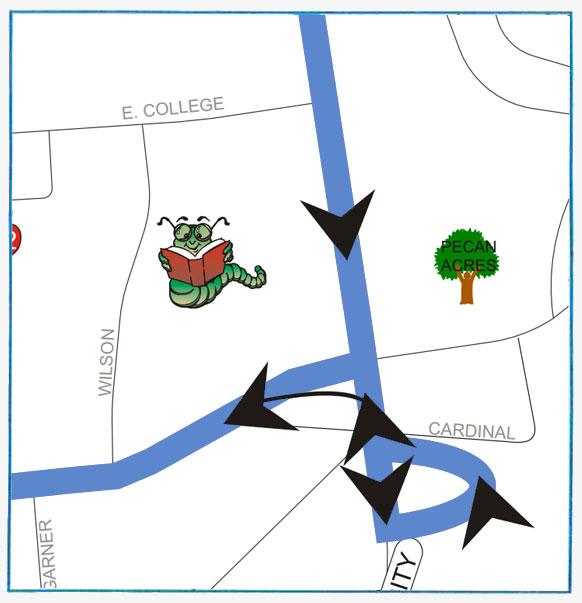 Nacogdoches Blue Original Route (map)